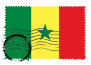 W.A.S. Country Flag: Sénégal