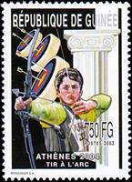 W.A.S. Calalog : Olympic Summer Games of Athens  2003 - 2002 - Guinea -
