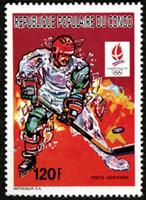 W.A.S. Calalog : Olympic Games Albertville 1992 - 1991 - Congo -  Jeux Olympiques, Sport