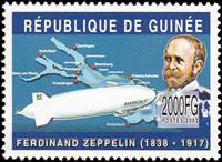 W.A.S. Calalog : Zeppelin 2002 - 2002 - Guinea -  Transports