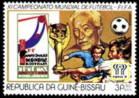 W.A.S. Calalog : Soccer Worldcup Argentina 1978 - 1977 - Guinea Bissau -  Football / Soccer
