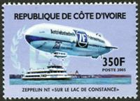 W.A.S. Calalog : Zeppelin & Concorde - 2005 - Ivory Cost -  Transports