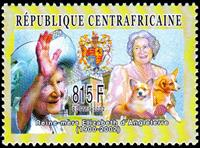 W.A.S. Calalog : Personalities 2003 - 2002 - Republic of Central Africa -  Personnages célèbres