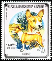 W.A.S. Calalog :  Domestic animals - 1991 - Madagascar -  Animaux
