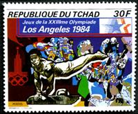 W.A.S. Calalog : Summer Olympic Games Los Angeles 1984 - 1982 - Tchad -  Jeux Olympiques, Sport