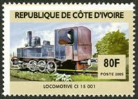 W.A.S. Calalog : Steam locomotives - 2005 - Ivory Cost -  Transports