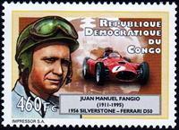 W.A.S. Calalog : Formula One Pilots - 2012 - Democratic Republic of Congo -  Sport, Transports