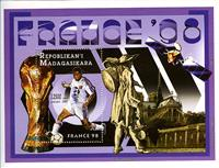 W.A.S. Calalog : Football world cup France 1998  - 1997 - Madagascar -  Football / Soccer