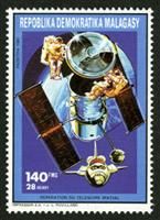 W.A.S. Calalog : Space activities  1992 - 1992 - Madagascar -  Espace