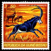 W.A.S. Calalog : Endangered animals (687) - 1977 - Guinée Bissau -  Animaux