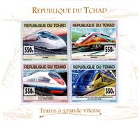 W.A.S. Calalog : High-Speed Trains 2012 - 2013 - Tchad -  Transports