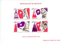 WAS Calalog - MONACO 1988 J.O Seoul Color Proof (1493) - Olympic Games - 1988