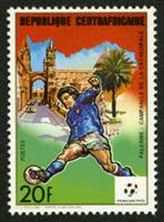 W.A.S. Calalog : Football World Cup Italy 1990 (7118) - 1989 - République de centrafrique -  Sport