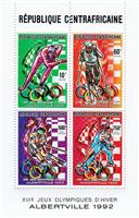 WAS Calalog - Olympic winterspiele 1992, albertville  (I)  1990 - 1 - 1990