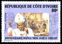 W.A.S. Calalog : Pope John Paul II - 2005 - Ivory Cost -  Religions, Personnages célèbres