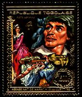 W.A.S. Calalog : 200 th Anniversary Of French Revolution , Gold issue - 1989 - Togo -  Evénements historiqu