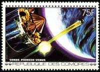 W.A.S. Calalog : Space Events - 1977 - Comores -  Espace