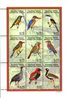 W.A.S. Calalog : Birds from around the world - 1998 - Comores -  Faunes & Flores, Animaux