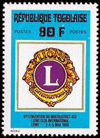 W.A.S. Calalog : Lions club regional conference  1990 - 1990 - Togo -