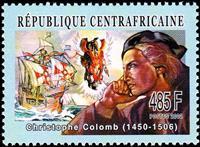 W.A.S. Calalog : History of the Navigation 2003 - 2002 - Republic of Central Africa -  Personnages célèbres, Transports, Evénements historiqu