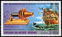 W.A.S. Calalog : 100 years telephone  1976 - 1976 - Guinea Bissau -  Evénements historiqu