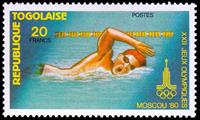 W.A.S. Calalog : Olympics Games of Moscou 1980 - 1980 - Togo -  Sport, Jeux Olympiques