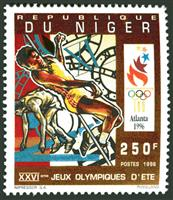 W.A.S. Calalog : Olympic summer Games Atlanta 1996 (690) - 1996 - Niger -  Jeux Olympiques, Sport