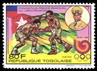 W.A.S. Calalog : Olympic Games Seoul 1988 - 1989 - Togo -  Jeux Olympiques, Sport