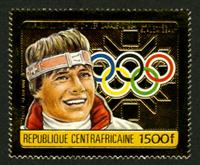 W.A.S. Calalog : Gold Medalists from the Sarajavo Olympic Games 1984 GOLD - 1984 - République de centrafrique -  Sport, Jeux Olympiques