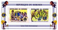 W.A.S. Calalog : Lions Club International - 2014 - Burundi -  Scoutisme
