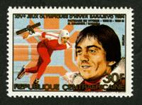 W.A.S. Calalog : Gold Medalists from the Sarajavo Olympic Games 1984 - 1984 - République de centrafrique -  Sport, Jeux Olympiques
