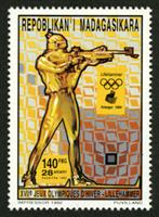 W.A.S. Calalog : Lillehammer Winter Olympics 1994 - 1994 - Madagascar -  Sport, Jeux Olympiques
