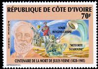 W.A.S. Calalog : Anniversary of the Death of Jules Verne 2005 - 2005 - Ivory Cost -  Personnages célèbres