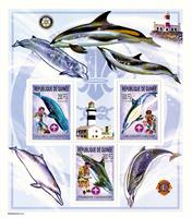 W.A.S. Calalog : Boy Scouts and Whales  - 2002 - Guinea -  Animaux, Scoutisme