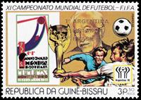 W.A.S. Calalog : Football world championship, Argentina : Placement of final participants – GOLD  1978 - 1978 - Guinea Bissau -  Sport