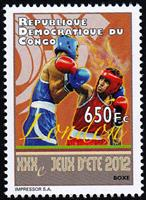 W.A.S. Calalog : Olympic Games of London 2012 - 2012 - Democratic Republic of Congo -  Sport, Jeux Olympiques