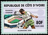 W.A.S. Calalog : World Cup of Football in Germany  2005 - 2005 - Ivory Cost -  Sport