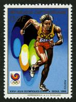 W.A.S. Calalog : Olympic Summer Games of Seoul 1988 - 1988 - Republic of Central Africa -  Sport, Jeux Olympiques