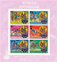 WAS Calalog - Olympic Games of Summer of Moscou (IV) 1980 - 1 - 1980