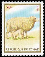 W.A.S. Calalog : Animal (sheep,horses,camels,cats,dogs) 1973 - 1973 - Tchad -  Animaux, Faunes & Flores