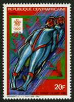 W.A.S. Calalog : Winter Olympics Games 1987 - 1987 - Republic of Central Africa -  Sport, Jeux Olympiques