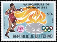 W.A.S. Calalog : Gold Medalist at Munich Olympics II 1972  - 1972 - Tchad -  Jeux Olympiques, Sport