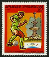 W.A.S. Calalog : Olympic Summer Games of Barcelona 1992  -1987 - 1987 - Republic of Central Africa -  Sport, Jeux Olympiques
