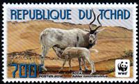 W.A.S. Calalog : World Wild Nature Antelope 2012 - 2012 - Chad -  WWF - Fonds Mondial , Animaux, Faunes & Flores