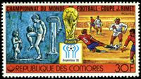 W.A.S. Calalog : Football Worldcup Argentina 1978 - 1978 - Comores -  Football / Soccer