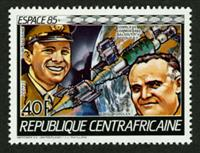W.A.S. Calalog : Space Travel 1985 - 1985 - Republic of Central Africa -  Espace