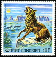 W.A.S. Calalog : Endangered Animals Part 2 - 1978 - Comores -  Animaux