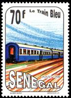 W.A.S. Calalog : The blue train  1992 - 1992 - Sénégal -