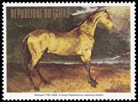 W.A.S. Calalog : Paintings of Horses 1973 - 1973 - Tchad -  Animaux, Faunes & Flores
