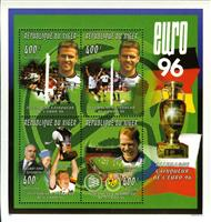 W.A.S. Calalog : Soccer Euro 96 - 1996 - Niger -  Football / Soccer